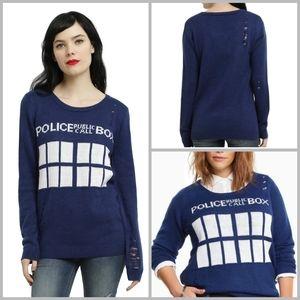 Torrid Dr. Who Tardis sweater size 1